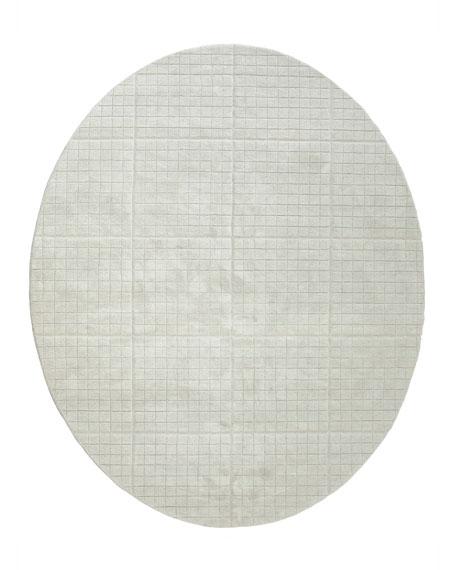 Cuff Link Oval Rug, 8' x 10'