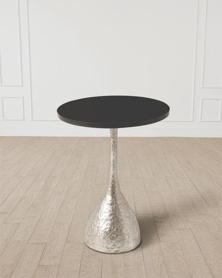 William D Scott Goblet Silver Leaf Table