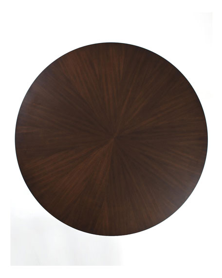 "60"" Walnut Top Dining Table"