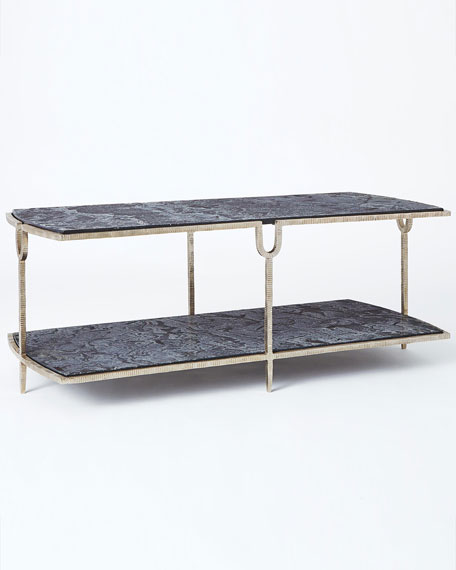 Curve Silver Cocktail Table