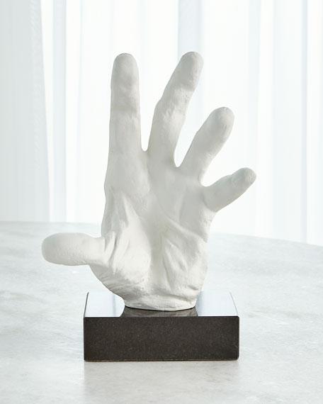 Hand Open Sculpture