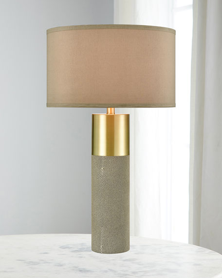 Tulle Honey Brass Table Lamp