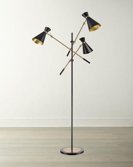 Chiron 3-Light Adjustable Floor Lamp