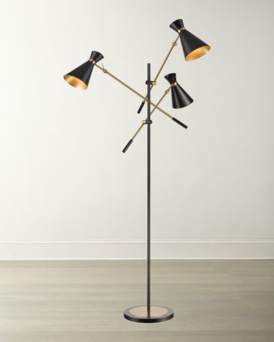 Chiron 3-Light Adjustable Floor Lamp