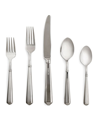 todd hill 5-piece flatware set