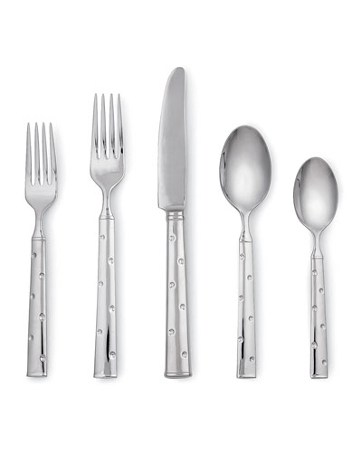 larabee dot 5-piece flatware set