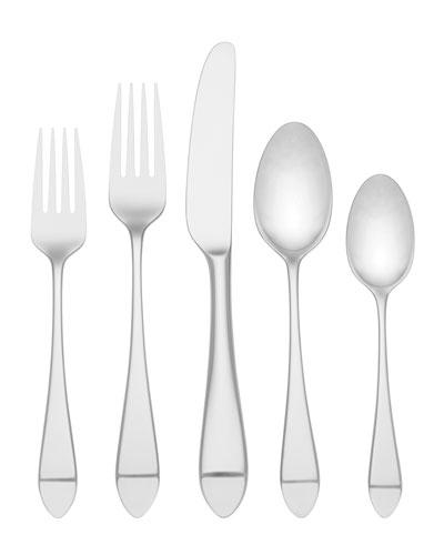 charlotte street 5-piece flatware set