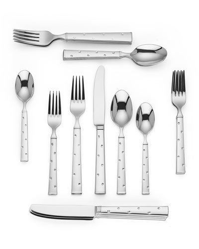 larabee dot 20-piece flatware set