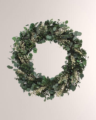 30 Italian Creme Wreath