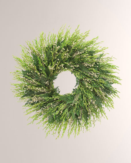 "30"" Easy Greens Wreath"