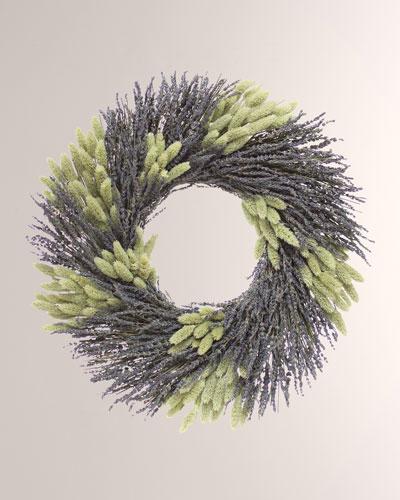 22 Soulful Lavender Wreath