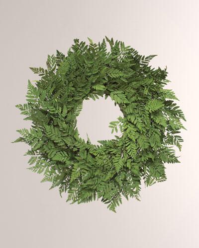 22 Breezy Fern Wreath