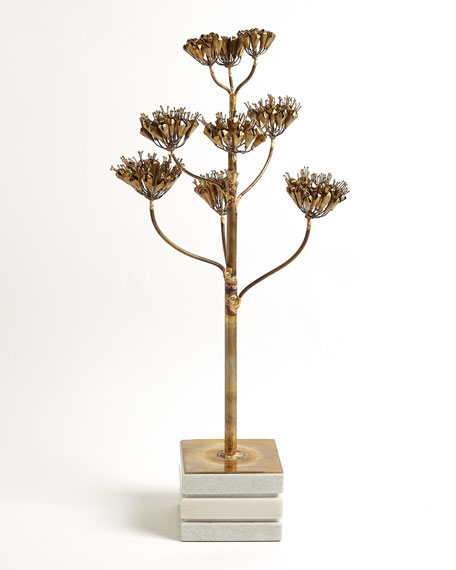Blooming Century Plant Sculpture