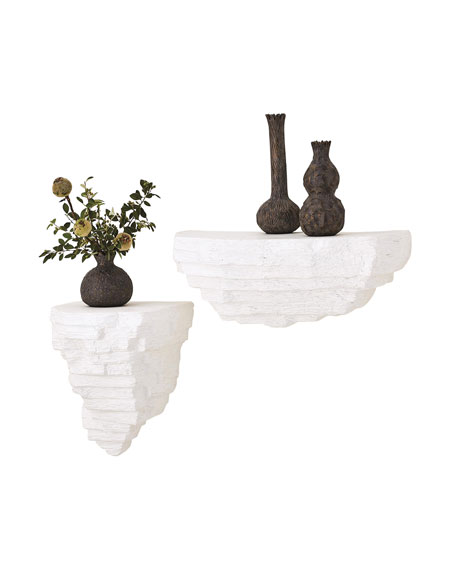 Viala Sculptural Wall Shelf - Small