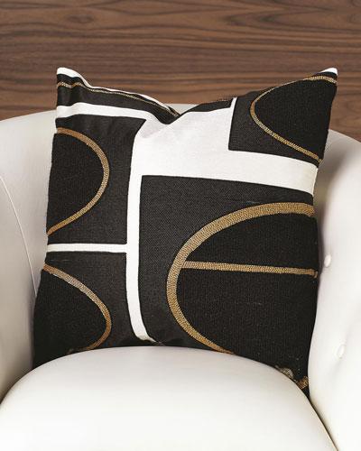 Brass Loop Pillow