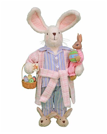 Karen Didion Originals PJ Bunny Decor
