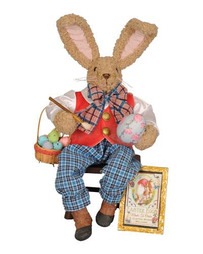 Artist Bunny Decoration