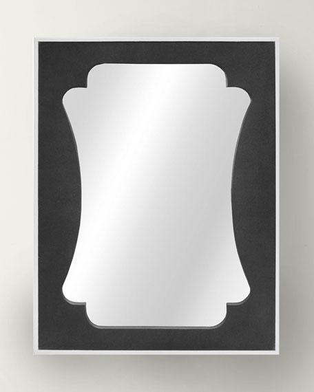 Vista Shagreen Mirror