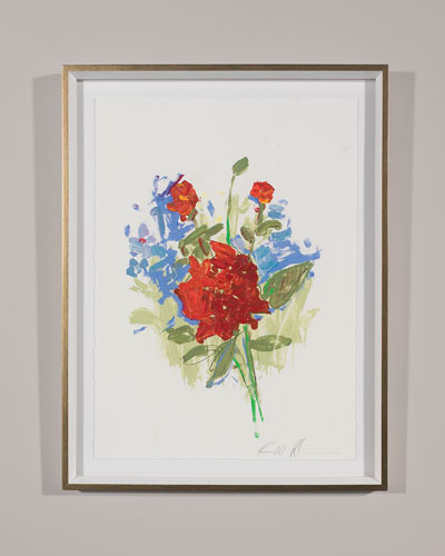 White Glove Series - Roses Print Art by Robert Robinson