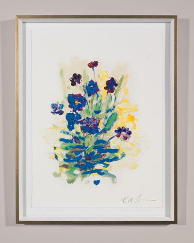 White Glove Series - Hosta Print Art by Robert Robinson