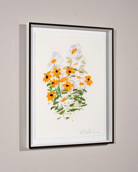 """White Glove Series - Roses"" Print Art by Robert Robinson"