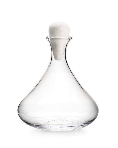 Vintner Wine Decanter with Marble Stopper