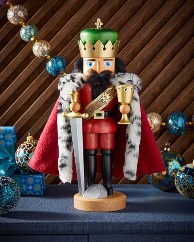 King Arthur Nutcracker (Glazed)