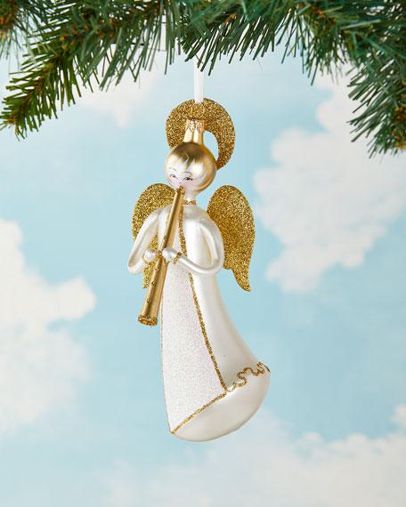 De Carlini Flying Angel Christmas Ornament