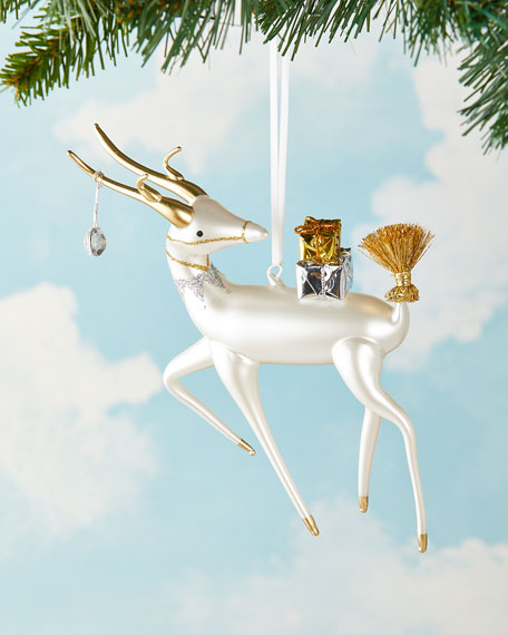 Deer Christmas Ornament