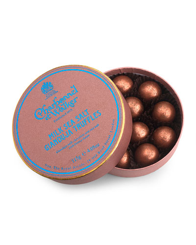 Sea Salt Gianduja Truffles