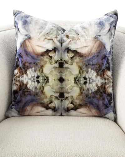 Velvet Smoke Pillow