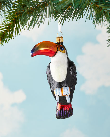 Exclusive Toucan Christmas Ornament