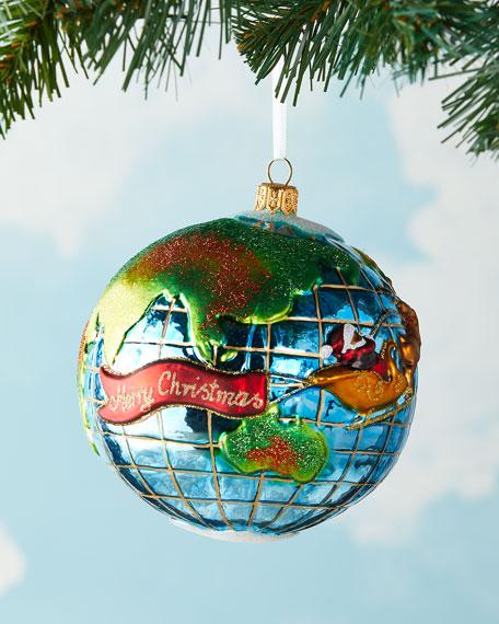 Exclusive Santa's Journey Around the Globe Ornament