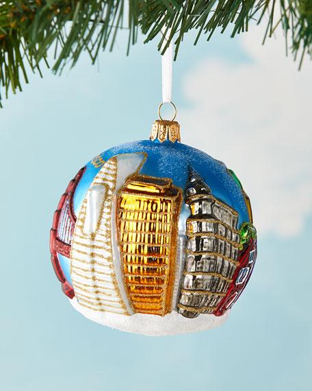 SF Ball Christmas Ornament