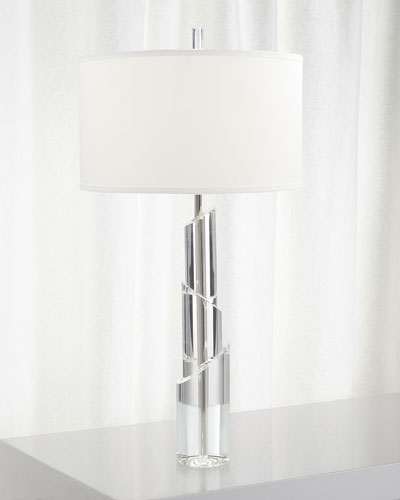 Solid Crystal Table Lamp