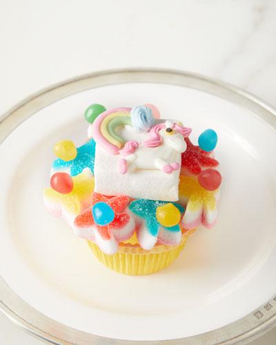 Unicorn & Rainbow Cupcake