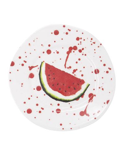 Melamine Fruit Watermelon Salad Plate