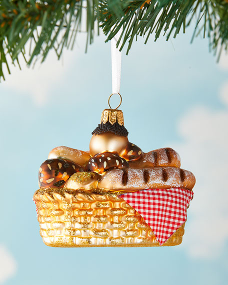 Bread Basket Christmas Ornament