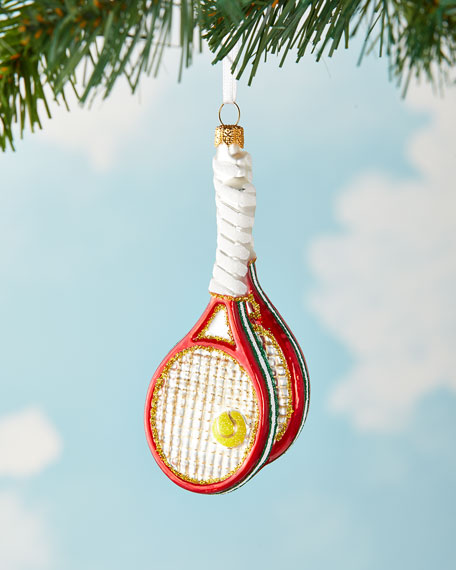 Tennis Racket Christmas Ornament