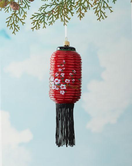 Japanese Lantern Christmas Ornament