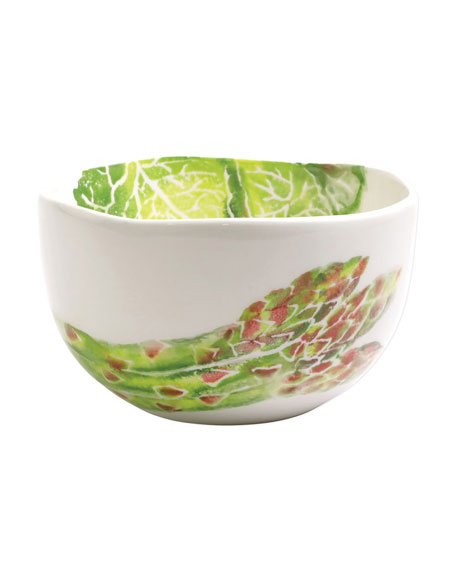 Spring Vegetables Small Deep Serving Bowl