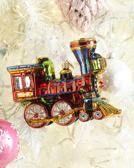 Exclusive John Huras Train Christmas Ornament