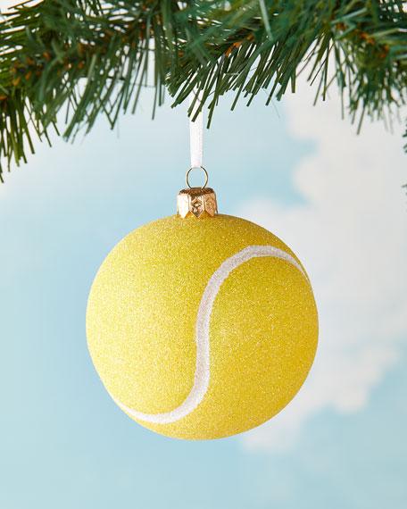 Tennis Ball Christmas Ornament