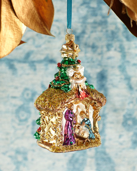 Exclusive Nativity Christmas Ornament