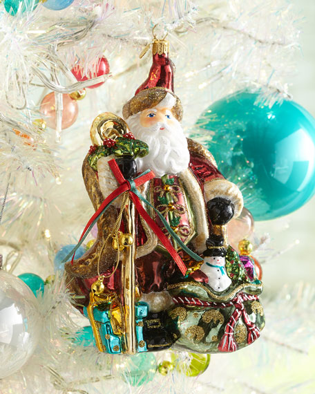 Exclusive John Huras Santa With Staff And Sack