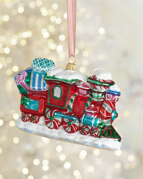 Exclusive Candy Train Christmas Ornament