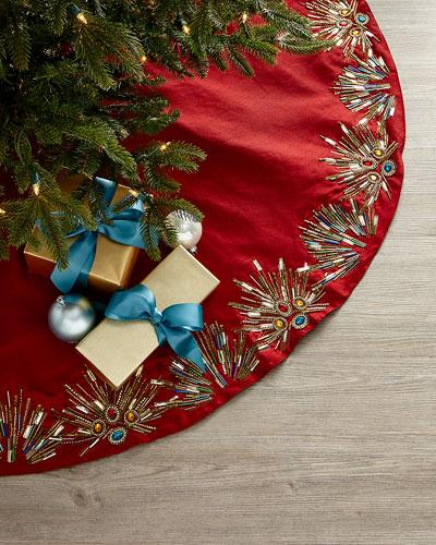 Spiritual Christmas Tree Skirt