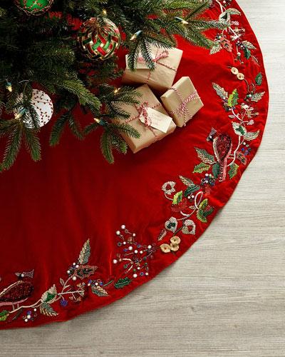 Cardinal Classic Tree Skirt