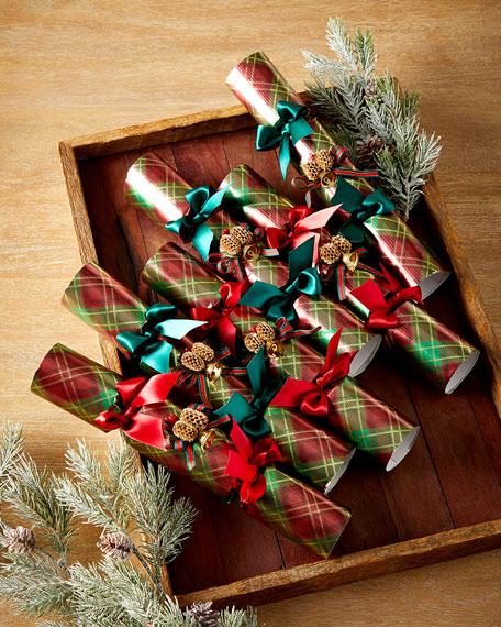Robin Reed 6 English Christmas Crackers - Contemporary