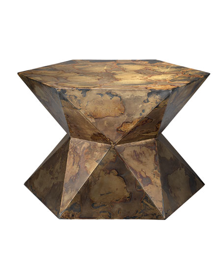 Crown Metallic Side Table
